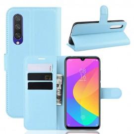 Etuis Portefeuille Xiaomi MI 9 Lite Simili Cuir Bleu