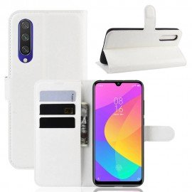 Etuis Portefeuille Xiaomi MI 9 Lite Simili Cuir Blanc