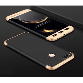 Coque 360 Xiaomi Mi A1 Noir et Or