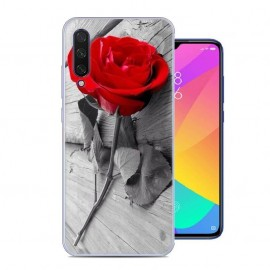 Coque Silicone Xiaomi MI 9 Lite Rose