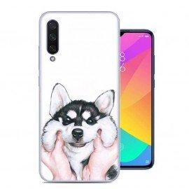 Coque Silicone Xiaomi MI 9 Lite Chien