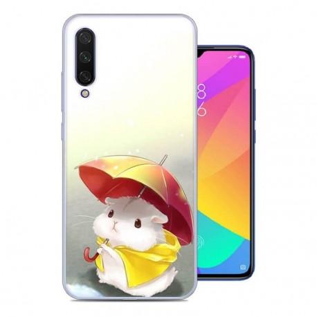 Coque Silicone Xiaomi MI 9 Lite Souris