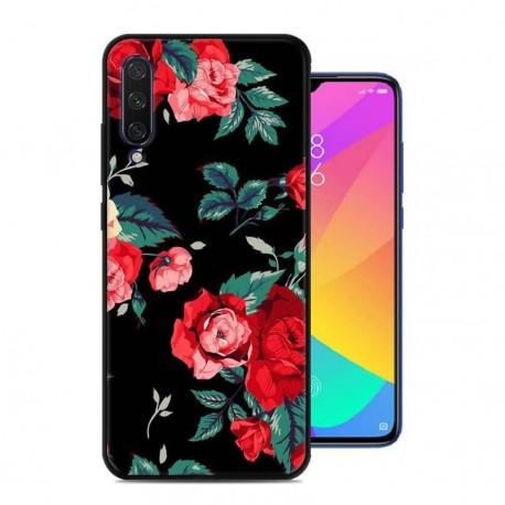 Coque Silicone Xiaomi MI 9 Lite Roses