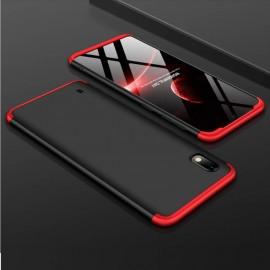 Coque 360 Samsung Galaxy A10 Noire et Rouge
