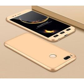 Coque 360 Xiaomi Mi A1 Dorée