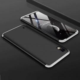Coque 360 Samsung Galaxy A10 Noire et Grise