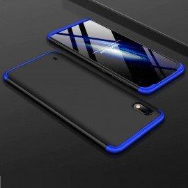 Coque 360 Samsung Galaxy A10 Noire et Bleue