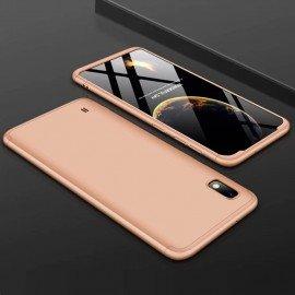 Coque 360 Samsung Galaxy A10 Dorée