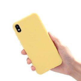Coque Xiaomi Samsung Galaxy A10 Extra Fine Jaune