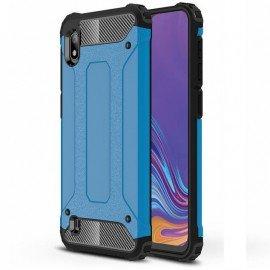 Coque Samsung Galaxy A10 Anti Choques Bleue