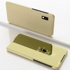 Etuis Samsung Galaxy A10 Cover Translucide Dorée