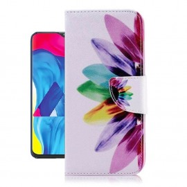 Etuis Portefeuille Samsung Galaxy A10 Plumes