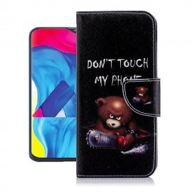 Etuis Portefeuille Samsung Galaxy A10 Ourson
