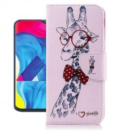 Etuis Portefeuille Samsung Galaxy A10 Girafe