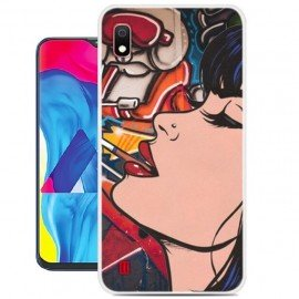 Coque Silicone Samsung Galaxy A10 Fille Cool