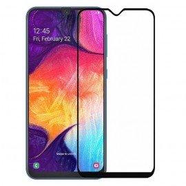 Verre Trempé Samsung Galaxy A10 protecteur d'écran Noir