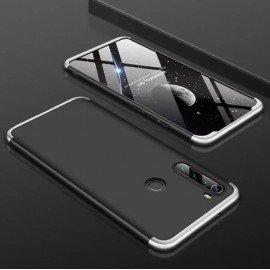 Coque 360 Xiaomi Redmi Note 8 Noire et Grise