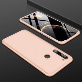 Coque 360 Xiaomi Redmi Note 8 Dorée