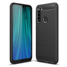 Coque Silicone Xiaomi Redmi NOTE 8 Carbone 3D Noire