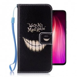 Etuis Portefeuille Xiaomi Redmi Note 8 Sourire