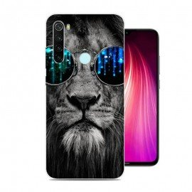 Coque Silicone Xiaomi Redmi Note 8 Lion Cool