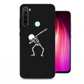 Coque Silicone Xiaomi Redmi Note 8 Squelette