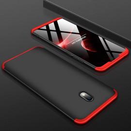 Coque 360 Xiaomi Redmi 8A Noire et Rouge