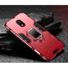Coque Anneau Xiaomi Redmi 8A Rouge
