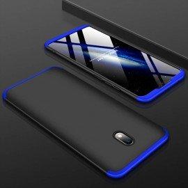 Coque 360 Xiaomi Redmi 8A Noire et Bleue