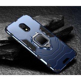 Coque Anneau Xiaomi Redmi 8A Bleue