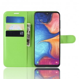 Etuis Portefeuille Xiaomi Redmi 8A Simili Cuir Vert