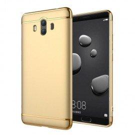 Coque Huawei Mate 10 Rigide Chromé Dorée