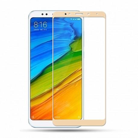 Verre Trempé Xiaomi Redmi 5 Plus Protecteur d'écran Doré