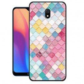 Coque Silicone Xiaomi Redmi 8A Aquarelles