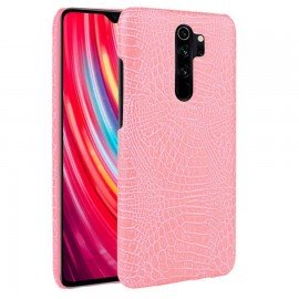 Coque Xiaomi Redmi Note 8 Pro Crocodile Cuir Rose