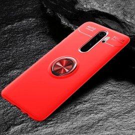Coque Anneau Xiaomi Redmi Note 8 Pro Rouge