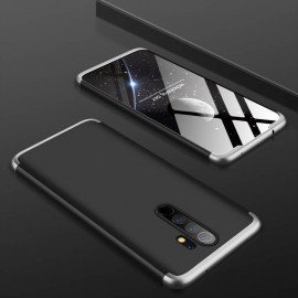 Coque 360 Xiaomi Redmi Note 8 Pro Noire et Grise