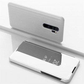 Etuis Xiaomi Redmi Note 8 Pro Cover Translucide Gris Argent