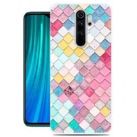 Coque Silicone Xiaomi Redmi Note 8 Pro Aquarelle