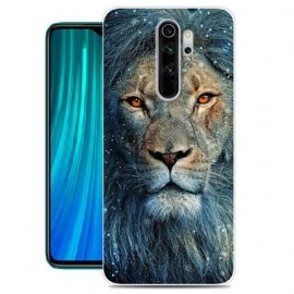 Coque Silicone Xiaomi Redmi Note 8 Pro Lion