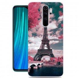 Coque Silicone Xiaomi Redmi Note 8 Pro Paris