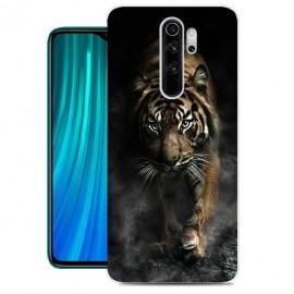 Coque Silicone Xiaomi Redmi Note 8 Pro Tigre