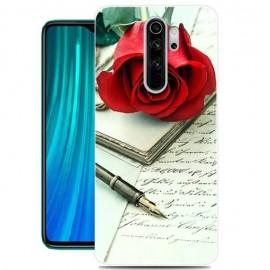 Coque Silicone Xiaomi Redmi Note 8 Pro Rose