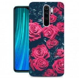 Coque Silicone Xiaomi Redmi Note 8 Pro Roses