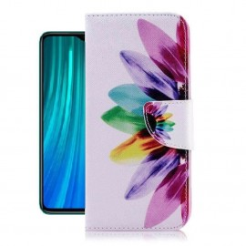 Etuis Portefeuille Xiaomi Redmi Note 8 Pro Plumes