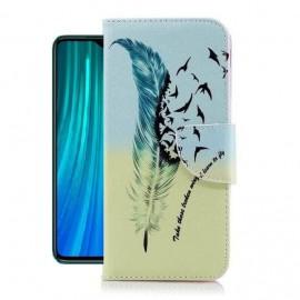 Etuis Portefeuille Xiaomi Redmi Note 8 Pro Oiseaux