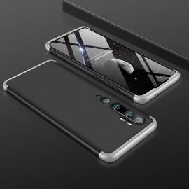 Coque 360 Xiaomi Mi Note 10 Noire et Grise