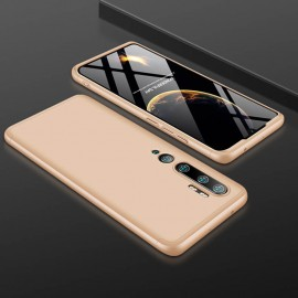 Coque 360 Xiaomi Mi Note 10 Dorée