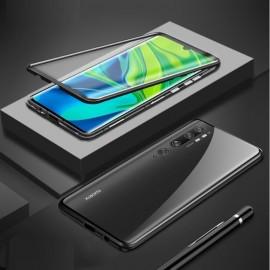 Coque double Xiaomi Mi Note 10 Magnetique Noire