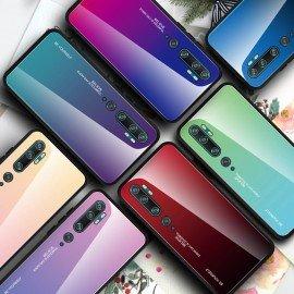Coque Xiaomi Mi Note 10 Silicone et Verre Trempé Master